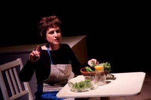 Maggie Cain in THE ARAB-ISRAELI COOKBOOK
